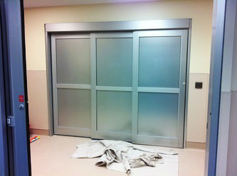 tinted door